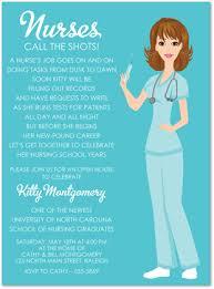 nursing school graduation invitations nursing graduation invitations