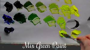 mix green u0026 black paint youtube