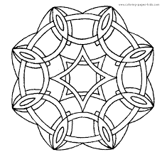 free mandala coloring pages kids star moon gianfreda net