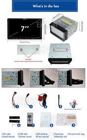 dixon dd9701 car multimedia entertainment am fm dvd player wiring