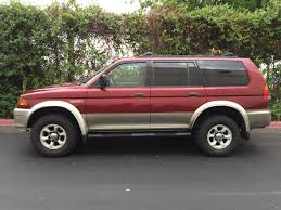 mitsubishi montero sport 2004 used 1999 mitsubishi montero sport xls at city cars warehouse inc