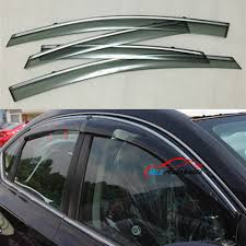 nissan sylphy 2014 sun rain visors wind deflector door side window guards stainless
