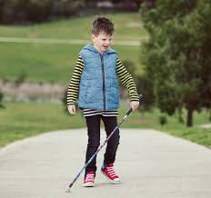 White Cane Blind Support Children Who Are Blind Or Have Low Vision This Christmas