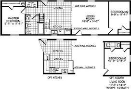 2 Bedroom Manufactured Home Single Wide Mobile Home Floor Plans Bookks Pinterest Single