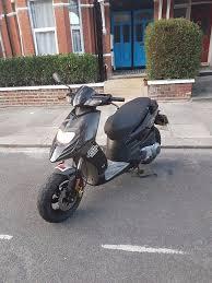 piaggio typhoon 125cc black scooter swap trade in ruislip