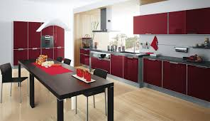 red modern kitchen modern red kitchen cabinets