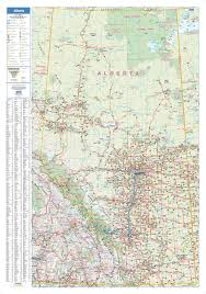 Map Alberta Canada by Mapsherpa Lucidmap