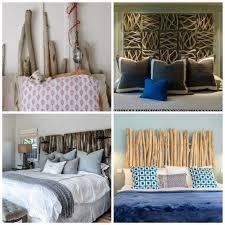 chambre deco bois tête de lit bois flotté pour une chambre d ambiance naturelle