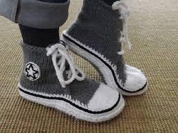 pattern crochet converse slippers ravelry patro converse slippers boy ravelry high top sneaker