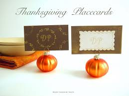 Easy Things To Make For Thanksgiving Good Things By David Thanksgiving Place Cards