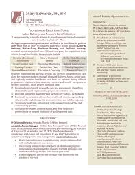 Resume Sample For Nursing Job by Registered Nurse Sample Resume Resumes For Nurses Sample