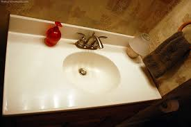 Cultured Marble Vanity How To Restore Shine To A Marble Countertop Or Bathroom Vanity