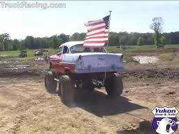 video of monster truck video mudding in a bel air u2013 monster truck or classic chevrolet