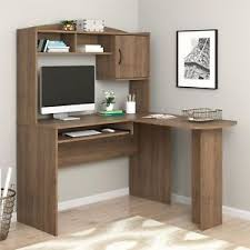 mainstays l shaped desk with hutch mainstays l shaped desk with hutch multiple colors rustic oak ebay