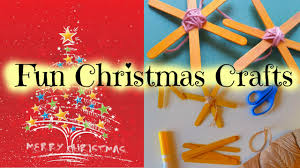 how to make popsicle stick stars easy kid christmas craft by