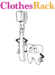 free dental colouring pages kids free teeth colouring pages
