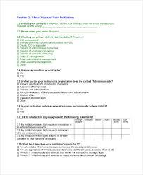 29 survey questionnaire examples