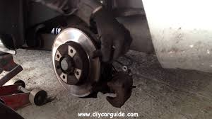 peugot 307 rear brake pads replacement youtube