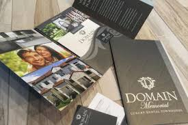 domain memorial elegant brochure robinson creative inc