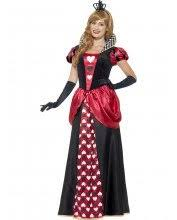 Queen Hearts Size Halloween Costume Women Size Costumes Blossom Costumes