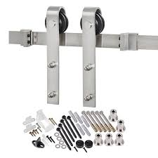 Door Knob Type Shop Sliding Barn Door Hardware At Lowes Com