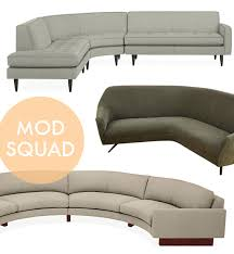modern curved sofa mod rounded sofas furniture pinterest round sofa living