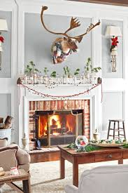 home decorating christmas home decor best christmas fireplace decorations small home
