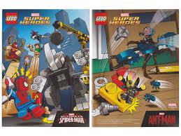 bricklink book 6128705 lego super heroes comic book marvel