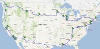 Map A Trip Map A Travel Route World Maps