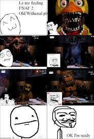 Meme Comic Characters - ragegenerator rage comic fnaf 2 decayed reaction