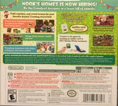 Animal Crossing Home Design Games Animal Crossing Happy Home Designer Video Game 3ds Usa