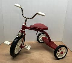 Radio Flyer Tricycle Bell Rare Radio Flyer Red Tricycle Miniature Model 12 U0027 U0027 Tall Doll Bear