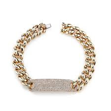 fine jewelry gold bracelet images Essential id bracelet shay fine jewelry jpg