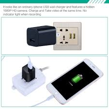 hd 1080p spy camera usb wall charger mini us plug ac adapter nanny