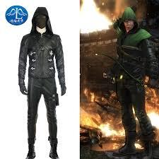 Green Arrow Halloween Costume Aliexpress Buy Manluyunxiao Green Arrow Season 5 Quentin
