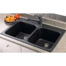 BLANCO Vision  Topmount Anthracite Sink  Home Depot - Home depot sink kitchen