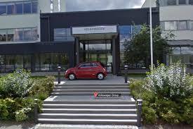 volkswagen headquarters fiat 500 parked at volkswagen hq in google street view prank the