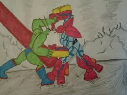 spongebob avengers redone mr krabs vs plankton by tboniuss413