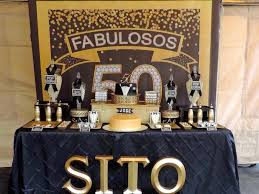 50th birthday party ideas kara s party ideas fabulous 50th black gold birthday party
