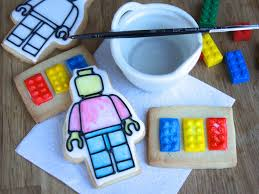 Paint Pallet by Painting Lego Cookies With Water And A Cookie Paint Pallet This