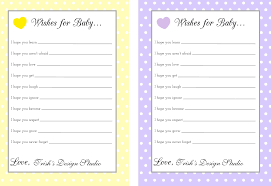 baby shower wishes home design