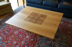 topography coffee table tom svec furniture design white oak coffee table