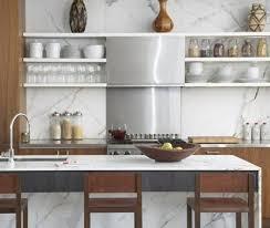 Glass And Marble Kitchen Backsplash Design Ideas - Marble kitchen backsplash