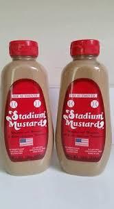 stadium mustard authentic cleveland stadium mustard the original 12 oz safety