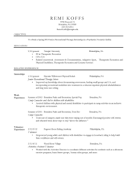Physical Therapy Resume Examples by 100 Occupational Therapy Resume Unbelievable Physical