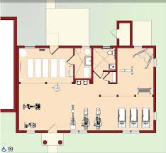 fitness center floor plan carpet awsa