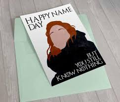 of thrones printable birthday card 100 images of thrones