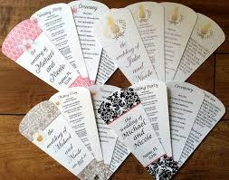 wedding fans with programs wedding program fan petal fan programs program fan wedding fan