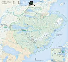 Alaska Map In Usa by Katmai National Park Map Hiking Trails Pinterest Katmai