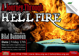 This Friday LECTURE: A Journey Through Hellfire - Sh Bilal Dannoun - Hellfire_billyd_webflyer